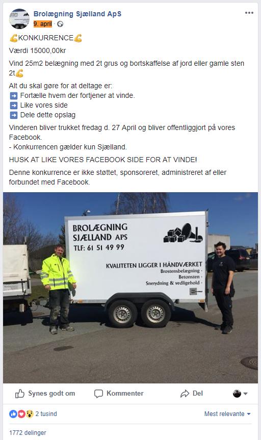 Heine Gustafson - Facebook indlæg 1